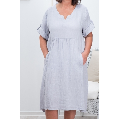 POSEY LINANE KLEIT, LIGHT GREY