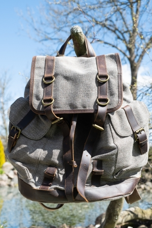 ROYAL LINEN BACKPACK