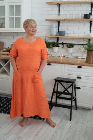 LINANE KLEIT LONG LONG, orange
