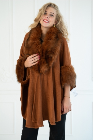 MONTEZUMA COAT,BROWN