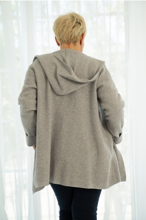 HEDERA CARDIGAN,GREY