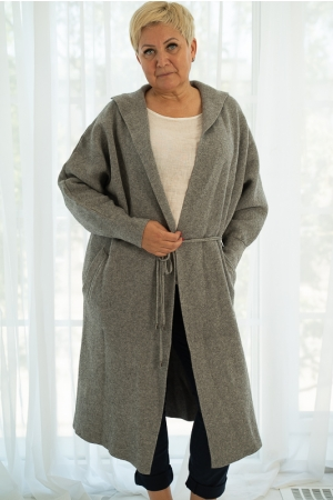 SUPERBUM CARDIGAN,GREY