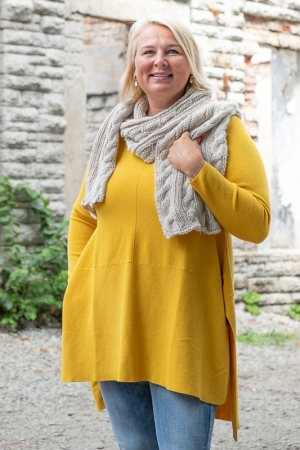 AMARANTH SWEATER, MUSTARD