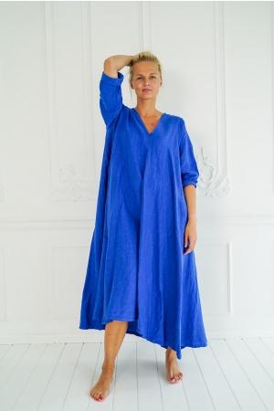 LINANE PIKK KLEIT DELISA, royal blue