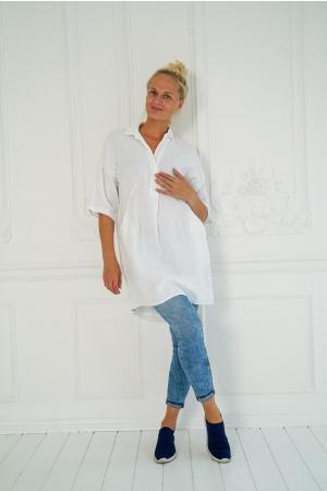 LINANE PLUUS/TUUNIKA CELIA, white