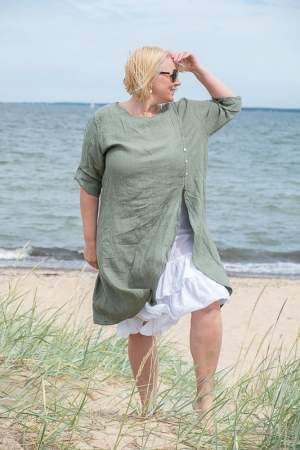 ROMANTIC LINANE KLEIT, KHAKI