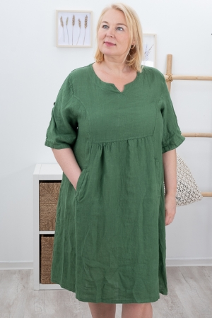 POSEY LINANE KLEIT, DARK GREEN