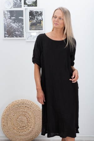 SKY STAR LINANE KLEIT,BLACK
