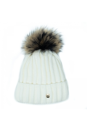 ANDREA HAT,WHITE
