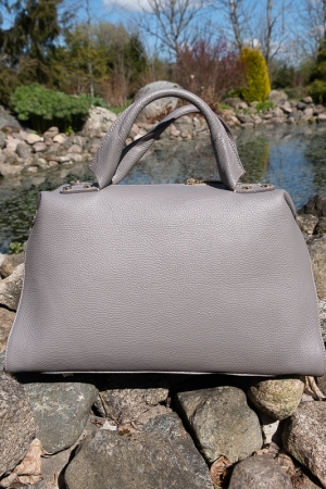 WIND GENUINE LEATHER HANDBAG
