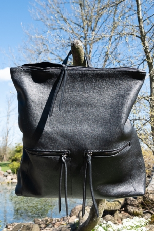 ALWAYS GENUINE LEATHER BACKPACK