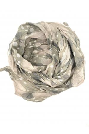 Siidpehme lilledega kaelasall