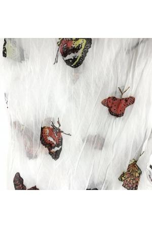 Siidpehme liblikatega kaelasall