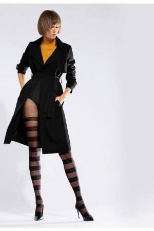 Patterned tights Horizontal 30 DEN