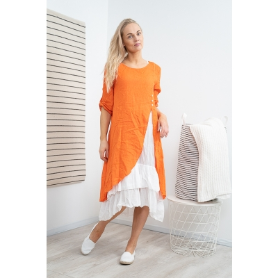 ROMANTIC LINANE KLEIT, ORANGE